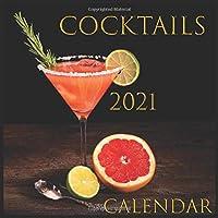 Calendar COCKTAILS: 2021 Wall & Office Calendar, 12 Month Calendar