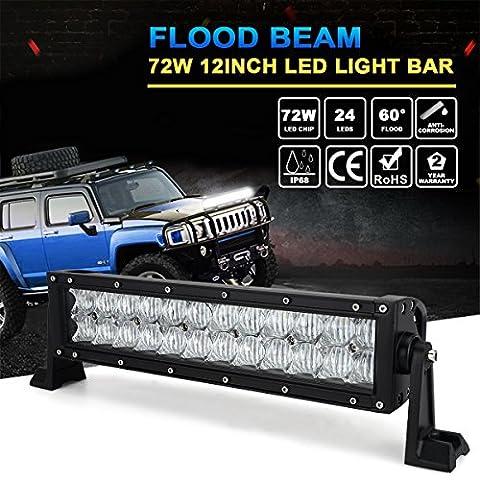 green-l 19,1cm 36W 5D LED Light Bar Spot Flood Combo fahren Lampe für Offroad LKW Auto ATV UTV SUV Jeep Boat 4WD
