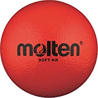 48X Molten Soft de HR Soft–Pelota infantil Escuela de piel de elefante + RS de Sports Bolígrafo, rojo, 100g, Ø 160 mm