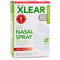 Preisvergleich für Xlear Saline Nasal Spray with Xylitol - 0.75 oz - 3 ct