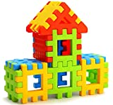 Lodestone Building Block Toy for Kids, Age 2 to 5, 30 Piece (Multicolour)