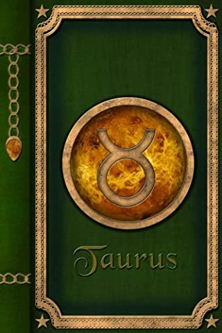 Taurus: Zodiac Sign Horoscope Lined Journal A4 Notebook, for school, home, or work, 150 Pages, 6