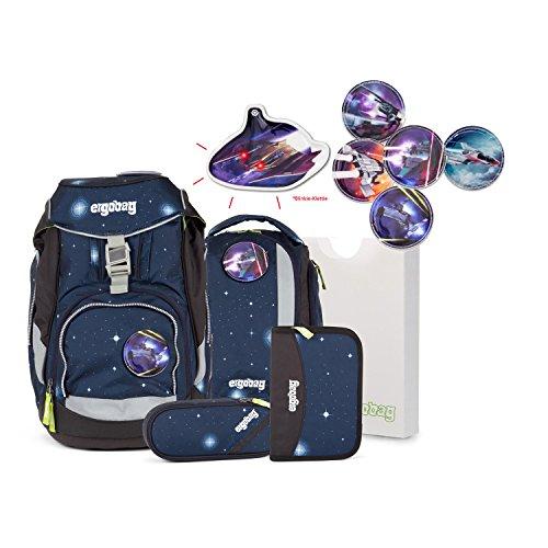 Preisvergleich Produktbild Ergobag Pack - KoBärnikus Schulrucksack 6tlg. Set - inkl.1 Blinkie nach Wahl