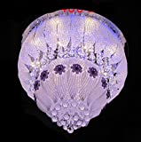 #2: LEd Chandelier (Jhoomar) With Bluetooth Music System usb connection 500mm(Free Wall Decorative Lamp)