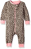 The Childrens Place Little Girls and Toddler Printed Stretchie Footie PJs