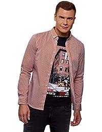 48c1dd9150d Amazon.es  camisa cuadros hombre - oodji Ultra   Camisas   Camisetas ...