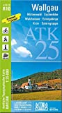 ATK25-R10 Wallgau (Amtliche Topographische Karte 1:25000): Mittenwald, Eschenlohe, Walchensee, Estergebirge, Krün, Soierngruppe (ATK25 Amtliche Topographische Karte 1:25000 Bayern)