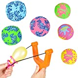 Water Toys For Kids - 7 Piece - Water Bombs And Balloon Slingshot - Pool Pack
