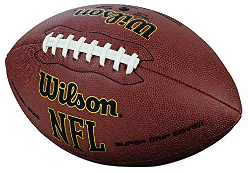 Wilson NFL Super Grip Fußball, braun, Official - 2