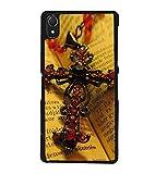 Fuson Designer Back Case Cover for Sony Xperia Z2 (5.2 Inches) (Jesus Cross Jesus Cross Pendant Chain)