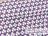 Mamasliebchen Jersey-Stoff Little Lucky Clover