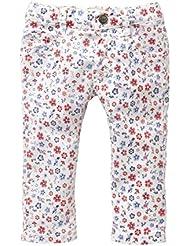 Pantalón de Niña Slim Blanc