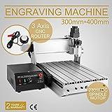 FurMune CNC Fräsmaschine Fräs Graviergerät CNC Router Machine Engraver Machine 3040T-DQ 3 Achsigen Einfache Installation Aus Aluminiumlegierung (3040T-DQ 3 Achsigen)