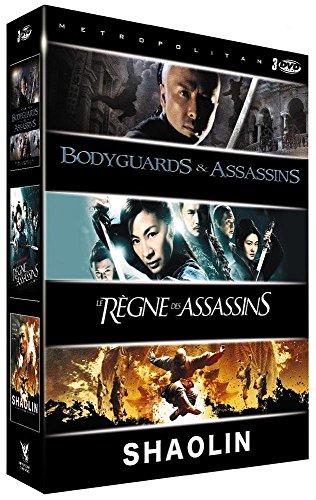 Coffret arts martiaux : bodyguards and assassins ; le règne des assassins ; shaolin [FR Import]