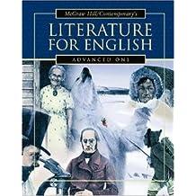 Literature for English Advanced One, Teacher's Guide by Burton Goodman (2003-02-28)