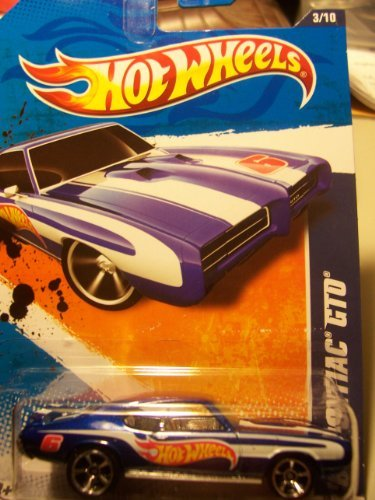 Hot Wheels HW Racing '11 3/10 '69 Pontiac GTO 153/244 by Mattel (Wheels Gto Hot)