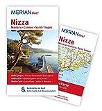 Nizza Monaco Cannes St. Tropez: MERIAN live! - Mit Kartenatlas im Buch und Extra-Karte zum Herausnehmen - Gisela Buddée