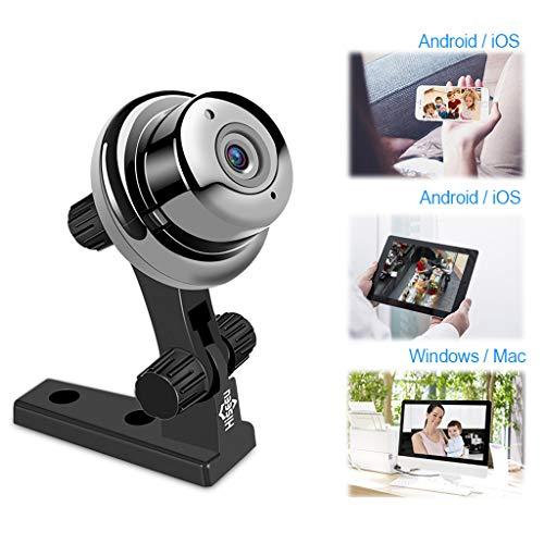BABY MONITOR ZLMI Alarme de détection de Mouvement de caméra réseau à Distance sans Fil pour Moniteur de bébé 1 Million (dpi) Compatible avec Android/iOS / Ordinateur