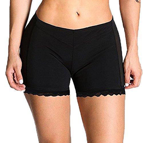 DODOING Damen Frauen Kolben-Heber Butt Lifter Höschen Boy Shorts Shapewear Enhancer Shaper Panty Miederpants Unterwäsche (Shorts Butt)