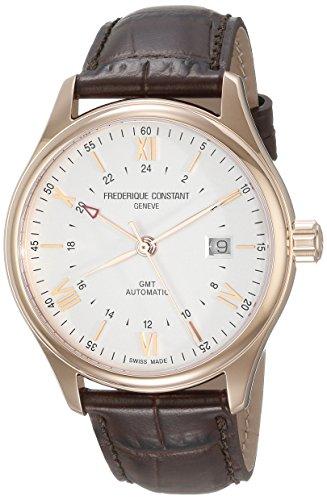 Frederique Constant Geneve Classics Index GMT FC-350V5B4 Orologio automatico uomo 2. Fuso orario