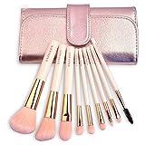 DAMENGXIANG Make-Up-Pinsel Set 9 Pinsel Sets Anfänger Make-Up-Pinsel Make-Up Tool Eye Shadow Pinsel Vollen Farbe Augenbrauen Pinsel. 9 Zweige Der Rosafarbenen Tasche
