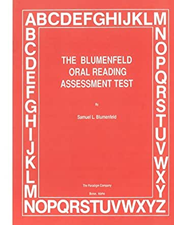 The Blumenfeld Oral Reading Assessment Test (English Edition) eBook