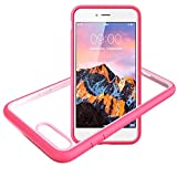 Slynmax Coque iPhone 8 Plus Rose 7 Plus/8 Housse Stylo Tactile Luxe Transparente...
