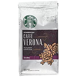 Starbucks Verona Blend Ground Coffee 200 g (Pack of 6)