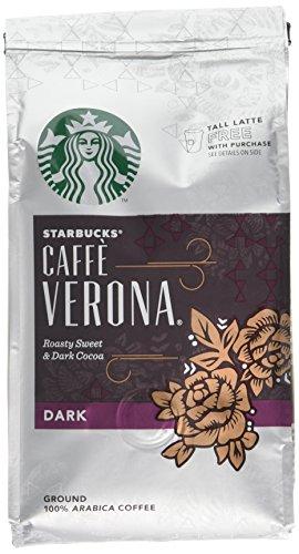 Starbucks Verona Blend Ground Coffee 200 g (Pack of 6)