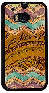 PrintVisa Pattern Abstract Art Case Cover for HTC One M8
