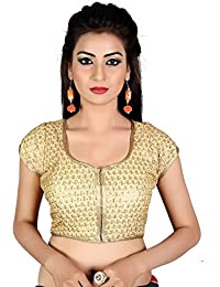 dc27505a81ff7a Amazon.in  Golds - Blouses   Ethnic Wear  Clothing   Accessories