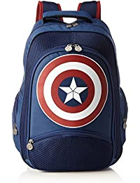 Captain America Rucksack Logo