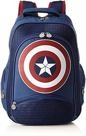Captain America Rucksack Logo [Importación Alemana]