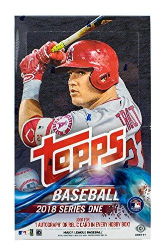 2018 Topps Series 1 Baseball Hobby Box - Topps Baseball-karten