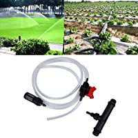 Dailyinshop 20mm Venturi +Irrigation Water Tube with Flow Control Switch & Filter Kit