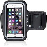 IDACA Noir Brassard Sport Jogging Gym Armband pour Apple iPhone 6 plus 5.5 inch