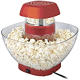 MINI CHEF Popcorn Maker -Volcano Style New Innovative Design With Large Serving Bowl For First Time In India