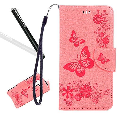 Produktbild Huawei Mate 9 Lederhülle, Huawei Mate 9 Wallet Schutzhülle