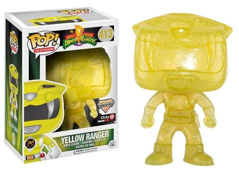 Figura POP Power Rangers Yellow Ranger Morphing Exclusive