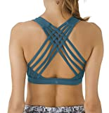 Queenie Ke Women's Medium Support Strappy Back Energy - Best Reviews Guide