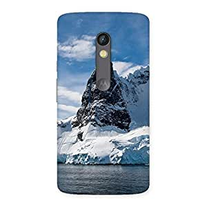 Luxirious Beach Freez Hill Back Case Cover for Moto X Play