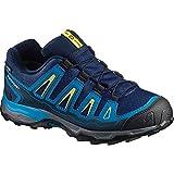 SALOMON X-Ultra GTX J, Stivali da Escursionismo Unisex-Bambini, Blu (Blue Depth/cloisonné/Blazing Yell O 000), 37 EU