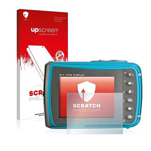 Galleria fotografica upscreen Scratch Shield Pellicola Protettiva Easypix Aquapix W1024 Splash Protezione Proteggi Schermo – Trasparente, Anti-Impronte