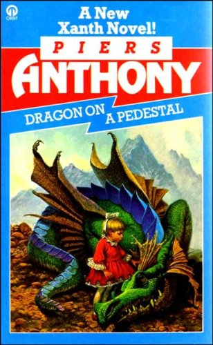 Cover of Dragon On A Pedestal (Xanth 7)