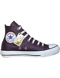 728e8c3b31c06 ... shop converse all star chucks leder color plum lila limited edition  größe eu 5bddb 6cddb