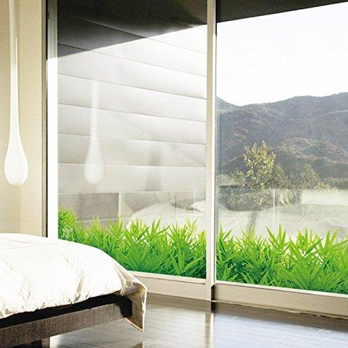 Winhappyhome verde hierba pegatinas de pared para el for Amazon decoracion pared