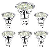 GU10 LED Blanc Froid, Wowatt Ampoule LED GU10 6000K 5W Équivalent à 40W 35W Lampe...