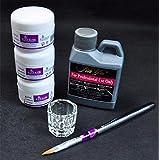 uñas kit Sannysis Líquido acrílico eliminar establece las herramientas, acrilicos de uñas organic