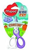Maped 37800 - Tijeras infantiles, solo corta papel, 12 cm