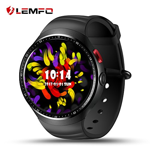 LEMFO LES1 Android 5.1 MTK6580 1GB / 16GB Smart Watch Phone with...